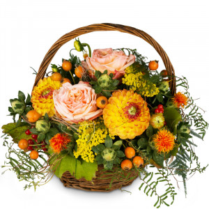 Indian Summer in a Basket