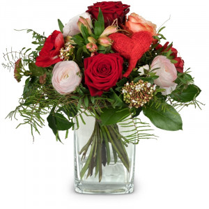 Valentine's Day Bouquet with red roses